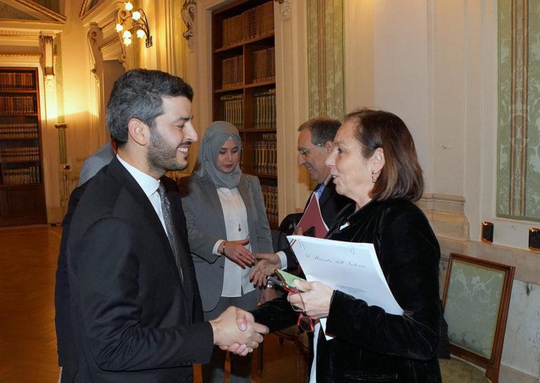 Incontro del presidente UCOII con il ministro Lamorgese